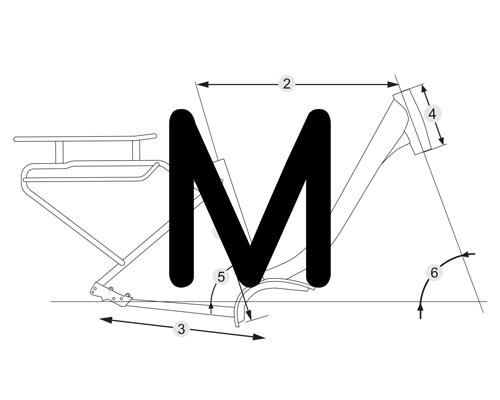 M: 450mm